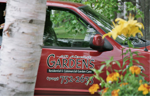 Contact All About Gardens